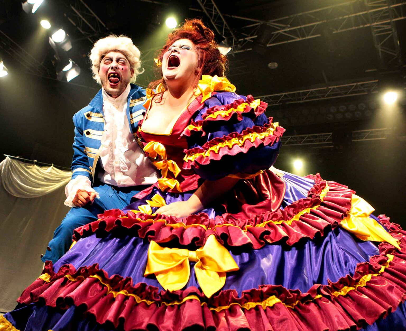 Teaterforestillingen Les Miserables